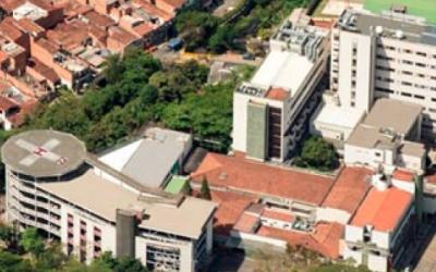 """Hospital """"Manuel Uribe Ángel"""" (edificio hospitalización)"""