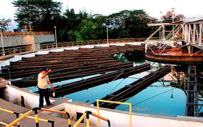 Tanques planta de aguas residuales